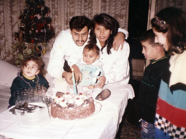 Asmar family, the daughter's birthday (MEE/Joseph Ataman)