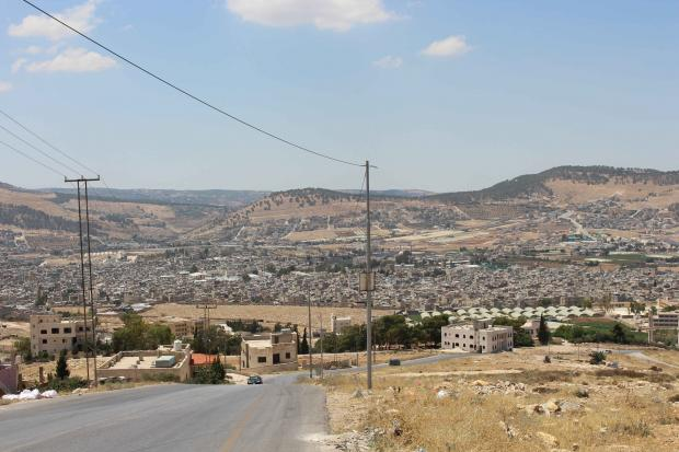 A refugee camp in Jordan holds the right of return for Palestinians