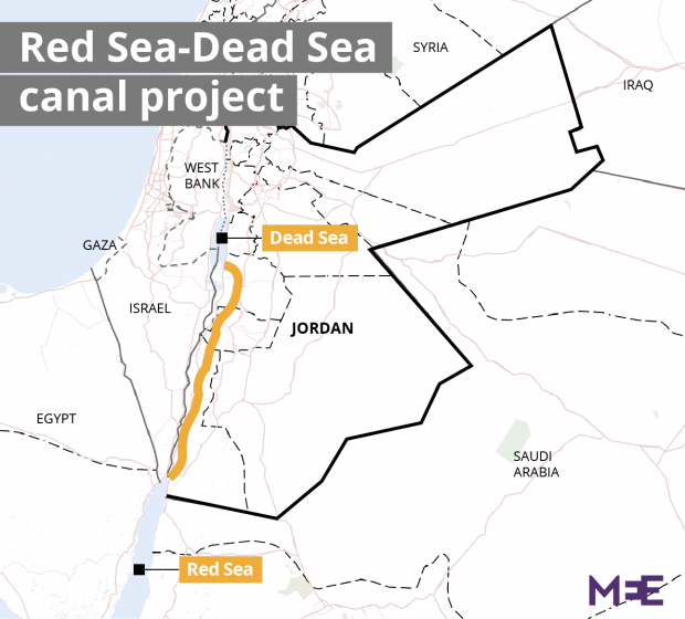 International firms rush in to build 10bn RedSeaDeadSea canal