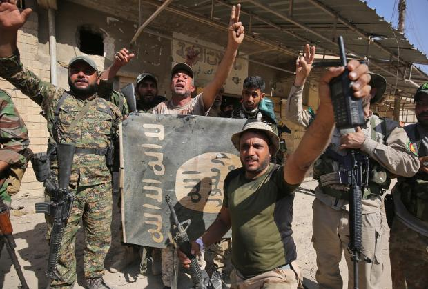 Jutyar Mahmoud considered the Hashd a greater threat than Iraq's regular army