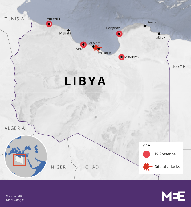 Islamic State Attacks Key Oil Facility In Northern Libya Middle - Where is libya