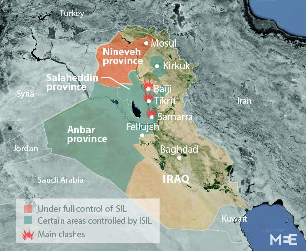 US mulls drone strikes against Iraq militants Middle East Eye