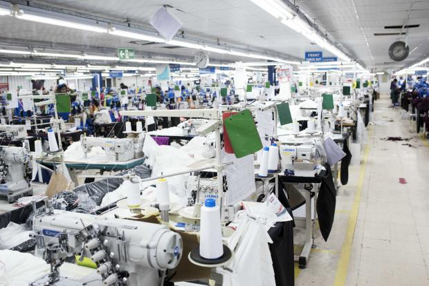 The Factory Floor Around 75 Percent Of Industrys Employees In Jordan Are Migrant Women Alisa Reznick MEE