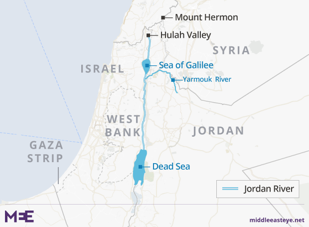 The Dead River? How the waters of the Jordan run foul
