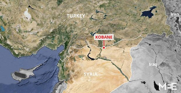 Turkey to allow Peshmerga not PKK to enter Kobane Middle East Eye