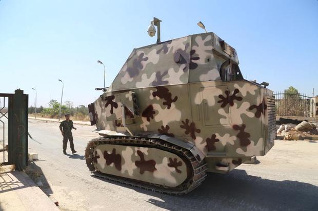 kurd led syrian militia says trump sent it armoured vehicles