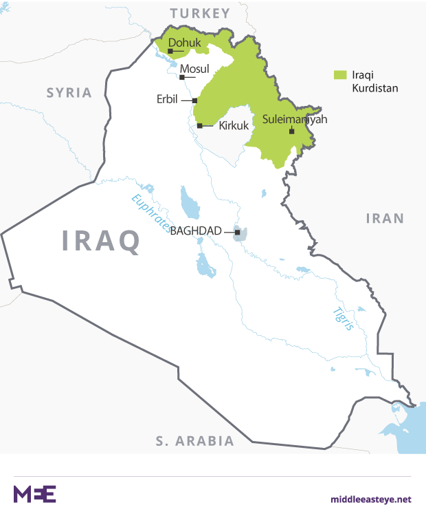 kurdistan puk party and the gorran movement the other main players in iraqi kurdistans coalition government were set on fire on 29 october in the