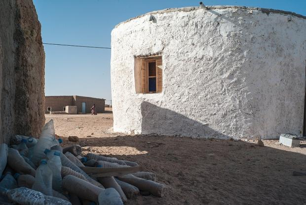 Meet The Sahrawi Refugee Building Homes From Plastic