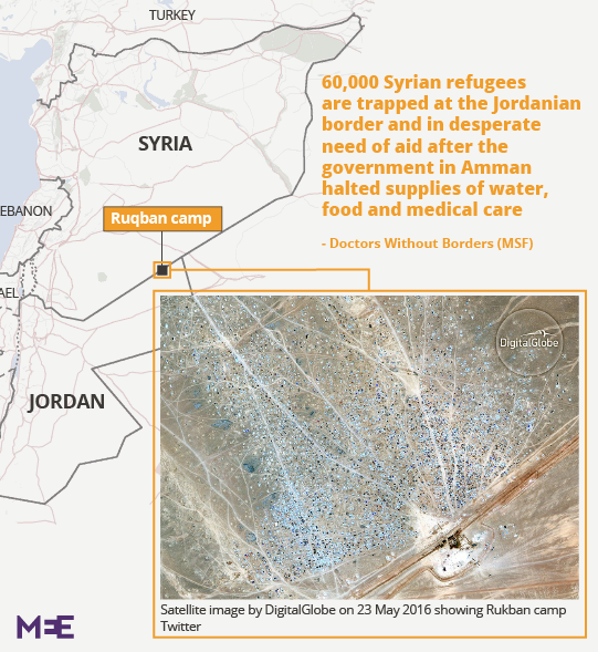 UN aid convoy to Syria's Rukban refugee camp delayed