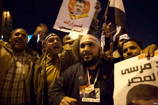 Egyptian court hands Muslim Brotherhood leaders life sentences