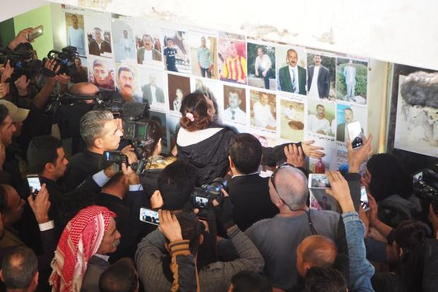 Nobel Peace Prize-winner Nadia Murad marks Yazidi festival in Iraq ghost village