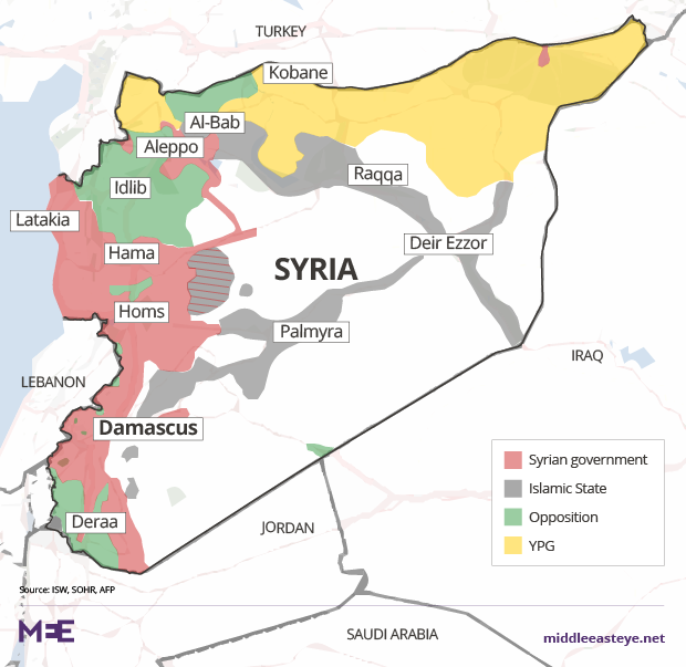 Can Turkey And Russia Push Back Iran In Syria Middle East Eye - Where is syria and turkey