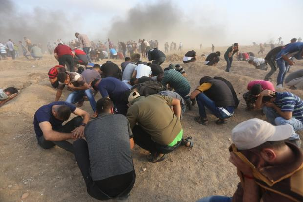 More than 100 Palestinians injured by Israeli forces during Gaza protest