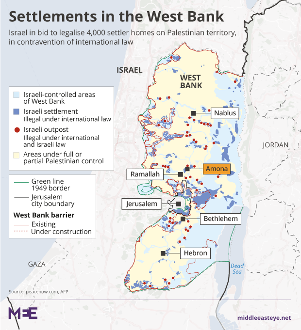 Irish Senate approves West Bank settlements bill barring imports