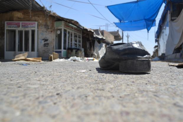 Makhmour residents fled in a hurry (MEE / Sheren Khalel)