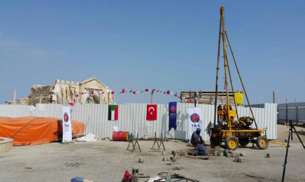 Turkey's TIKA aid agency is leading renovation projects on the island (TIKA)