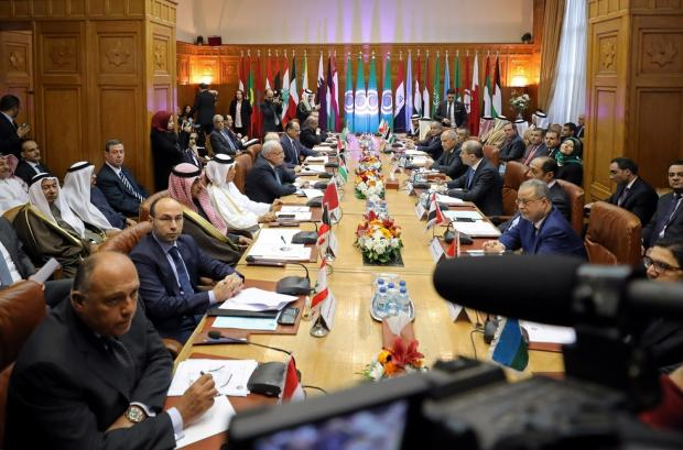 CORRECTION Egypt Arab League