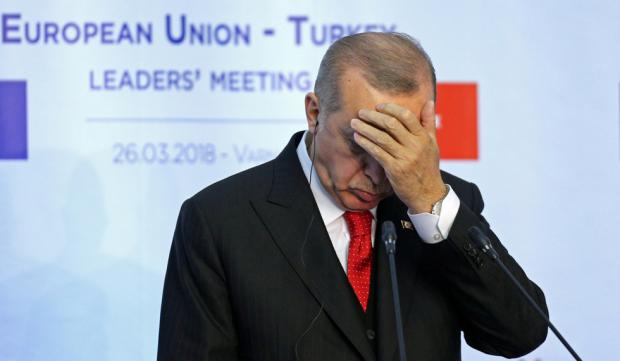 Turkish President Recep Tayyip Erdogan's Kurdish policy has fallen on its head
