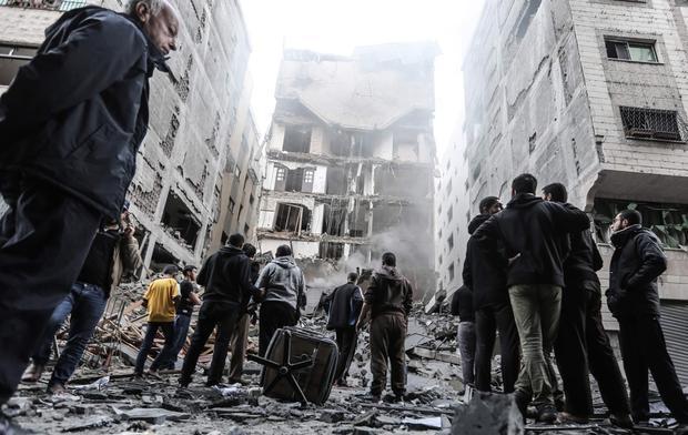 When Yara met Fadi: The story of a Syrian wedding dress under Gaza rubble