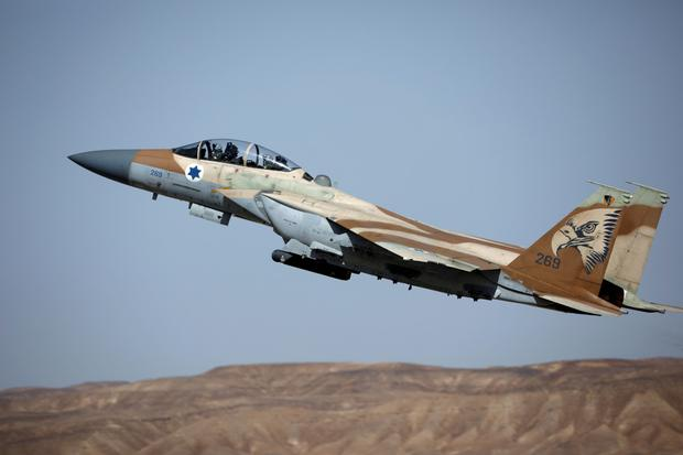 A file photo of an Israeli F-15 fighter aircraft (Reuters)