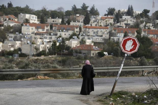 Airbnb said the move will affect about 200 listings in Israeli settlements in the West Bank (AFP)