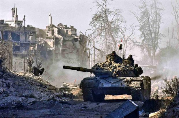 Reports of executions in Aleppo as Syrian army closes in