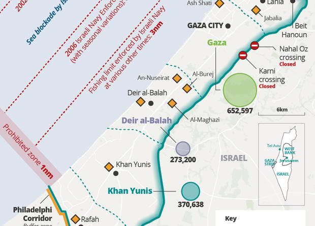 'I feel like I live in a septic tank': Gaza's environmental meltdown