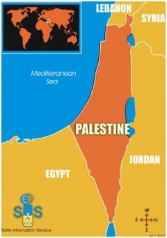 Palestine Still Just Dotted Lines On A Map As Google Passes The Buck - Map of just egypt