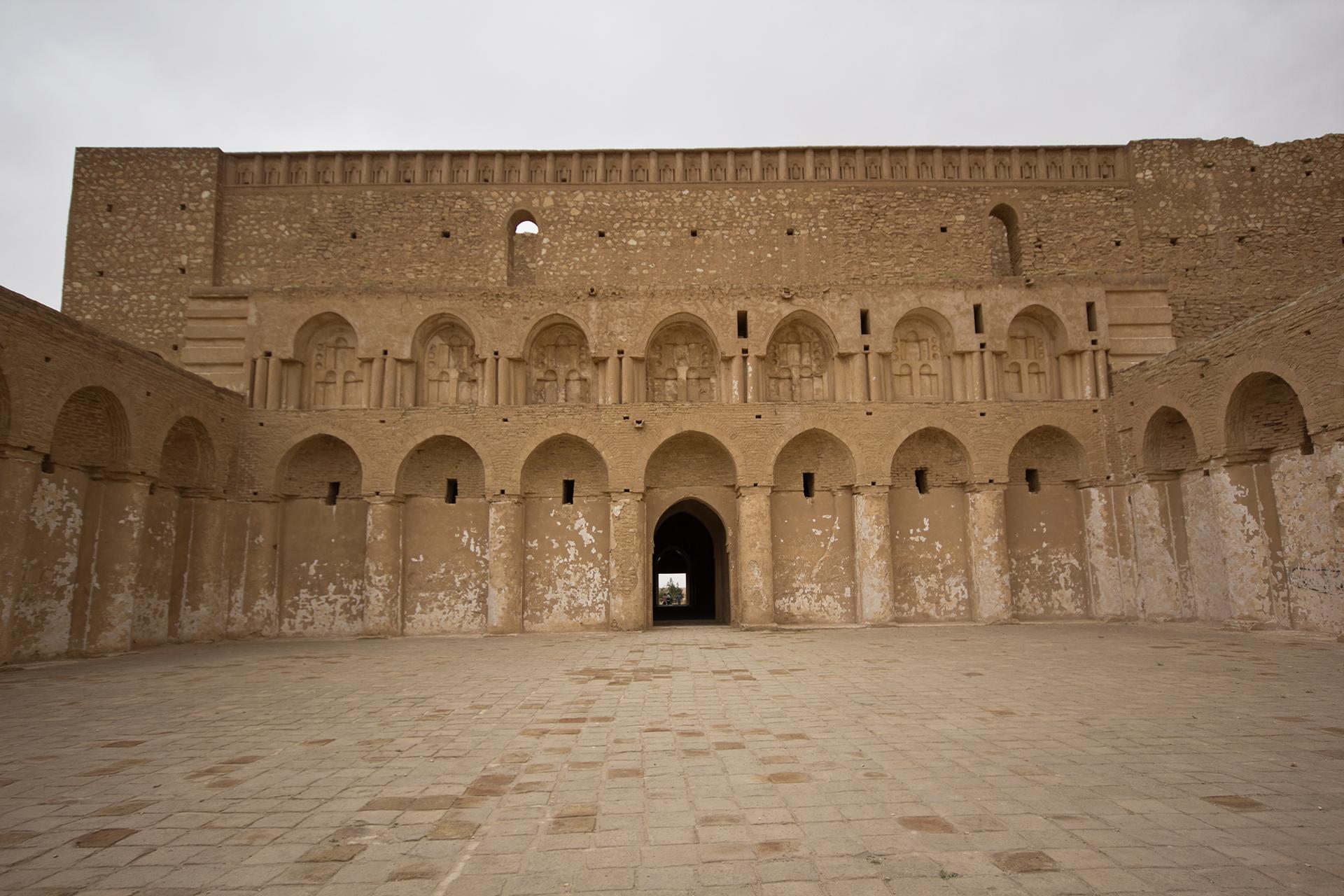 The vast 9th century fortress of Al-Ukhaidir, Karbala (MEE/Charlotte Mayhew)