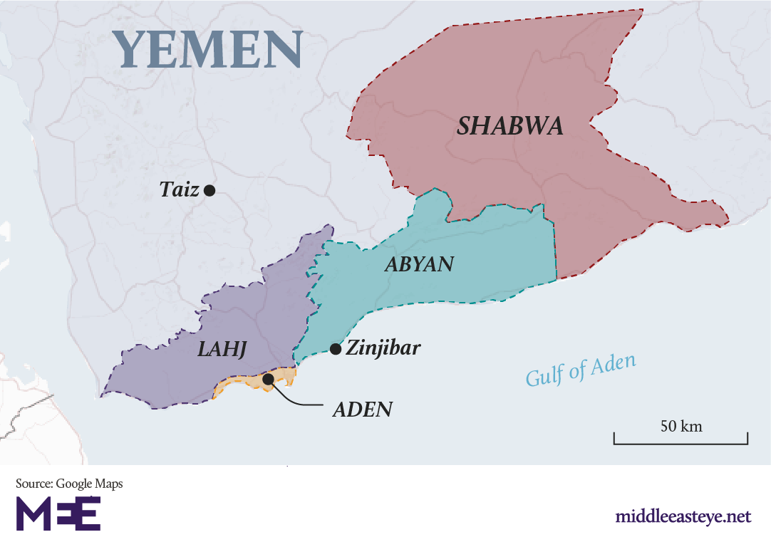 Yemen: Southern separatists regain control of port city of Aden