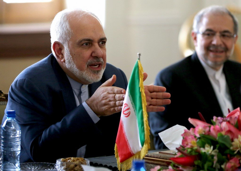 Iranian Foreign Minister Mohammad Javad Zarif speaks in Tehran on 22 December (AFP)